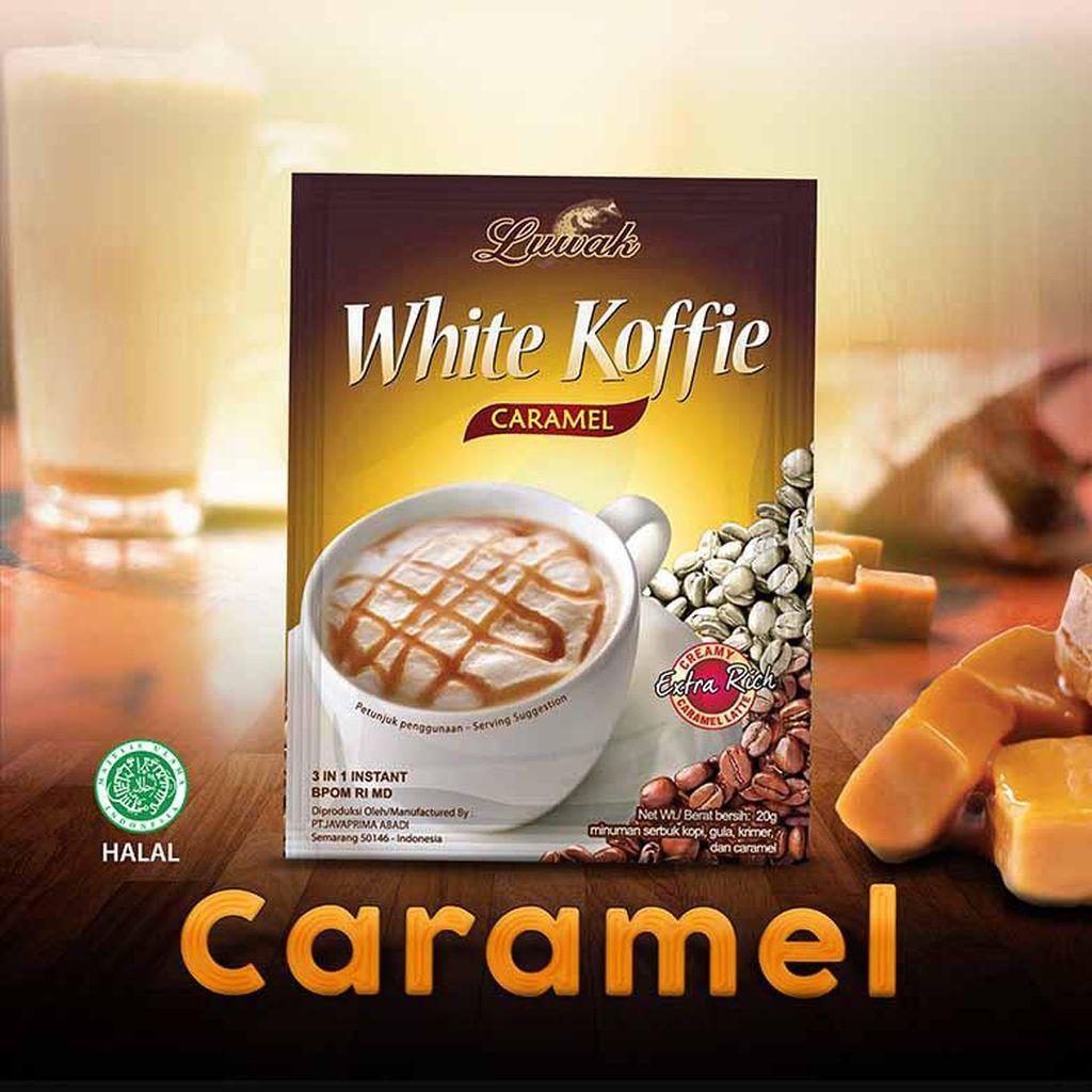 Luwak Koffie Caramel Blended, Paduan Harmonis Karamel Jepang & Low Fat Milk