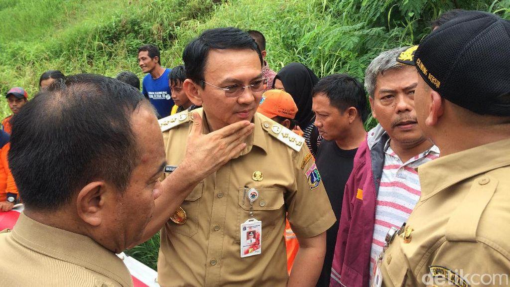 Banjir di Cipinang Melayu Lama Surut, Ini Penjelasan Ahok