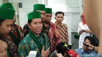 HMI Sampaikan 10 Komitmen Hasil Raker ke Presiden Jokowi
