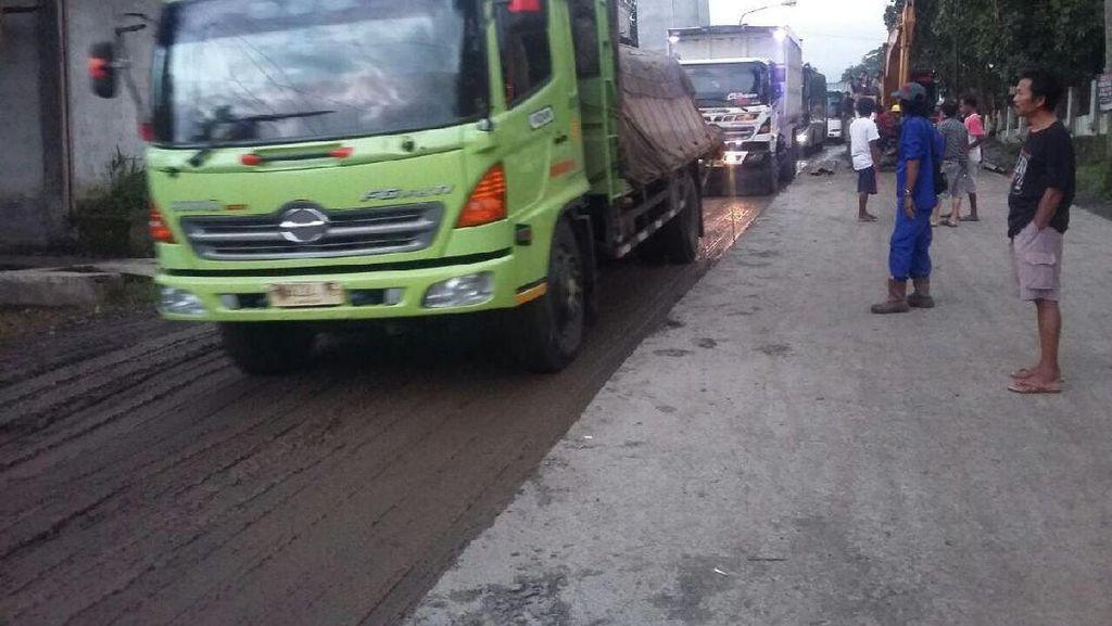 Perbaikan Jalan, Truk Besar Diminta Tak Lewati Jalur Purwokerto-Tegal
