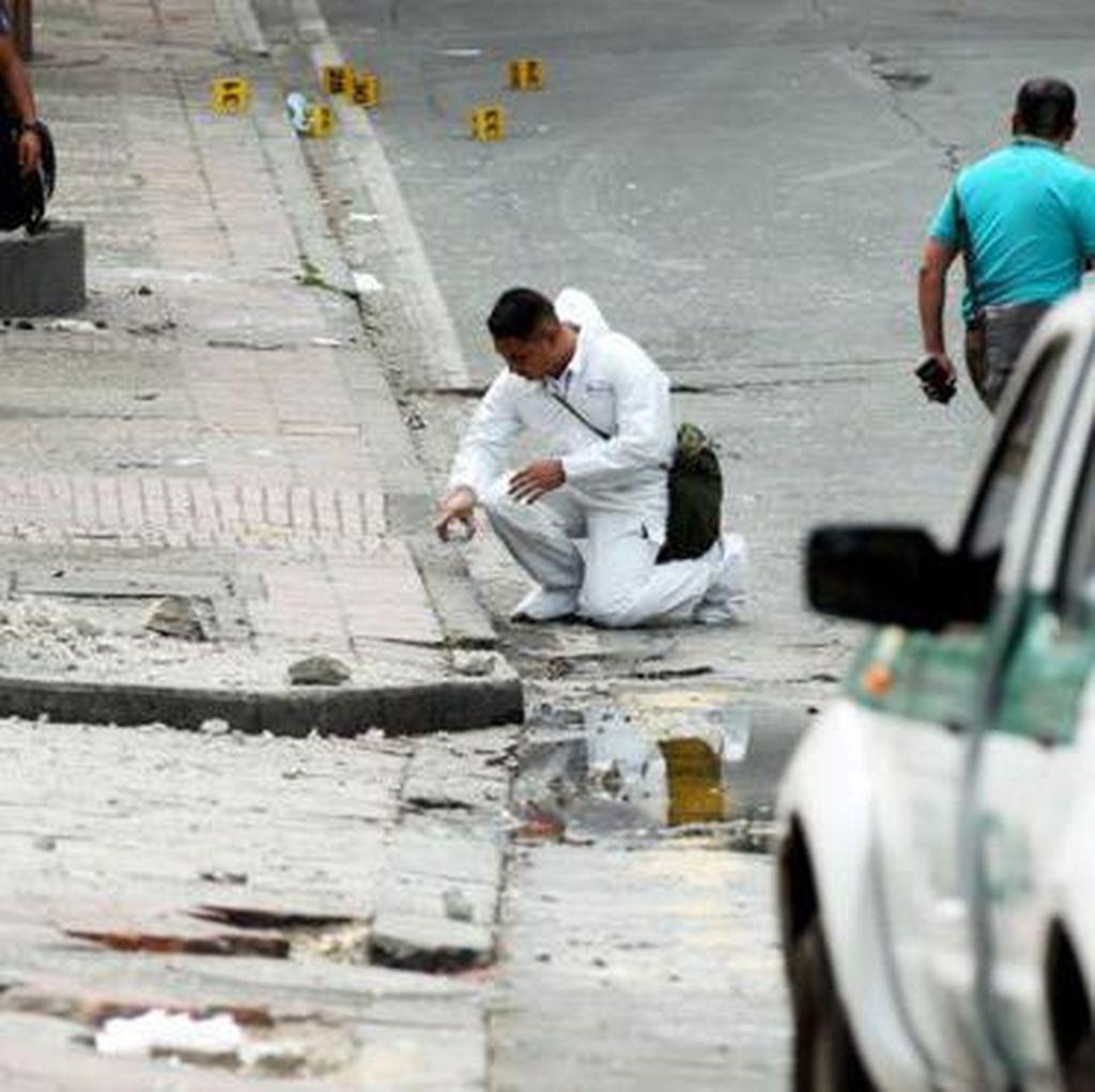 Ledakan Dekat Arena Adu Banteng di Bogota, 1 Polisi Tewas