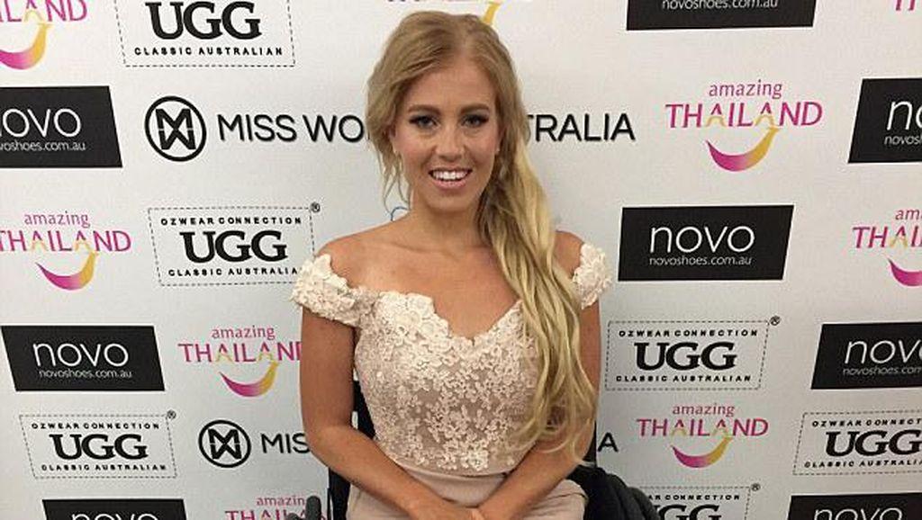 Wanita Ini Jadi Peserta Miss World Pertama yang Pakai Kursi Roda