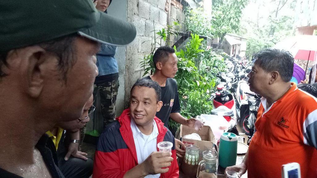 Cek Banjir, Anies: Kenapa Normalisasinya Berhenti Tahun 2014?