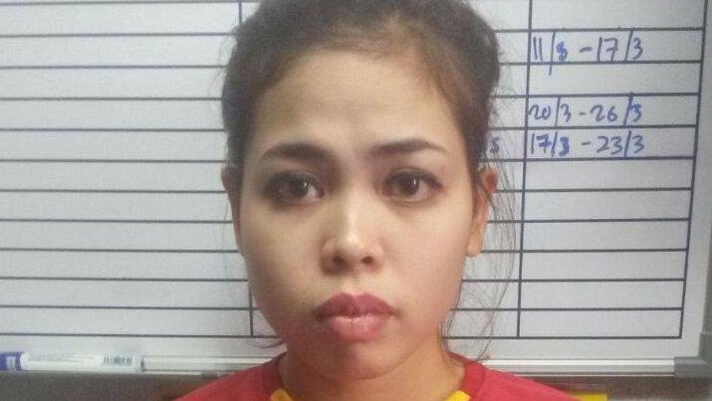 Siti Aisyah Dibayar Rp 1,2 Juta untuk 'Isengi' Kim Jong-Nam