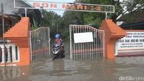 Banjir di Kota Mojokerto Meluas, 7 Sekolah Diliburkan