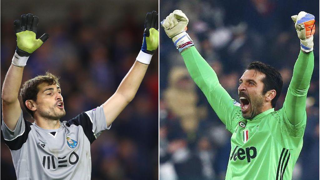 Jelang Porto vs Juventus, Tentang Casillas dan Buffon