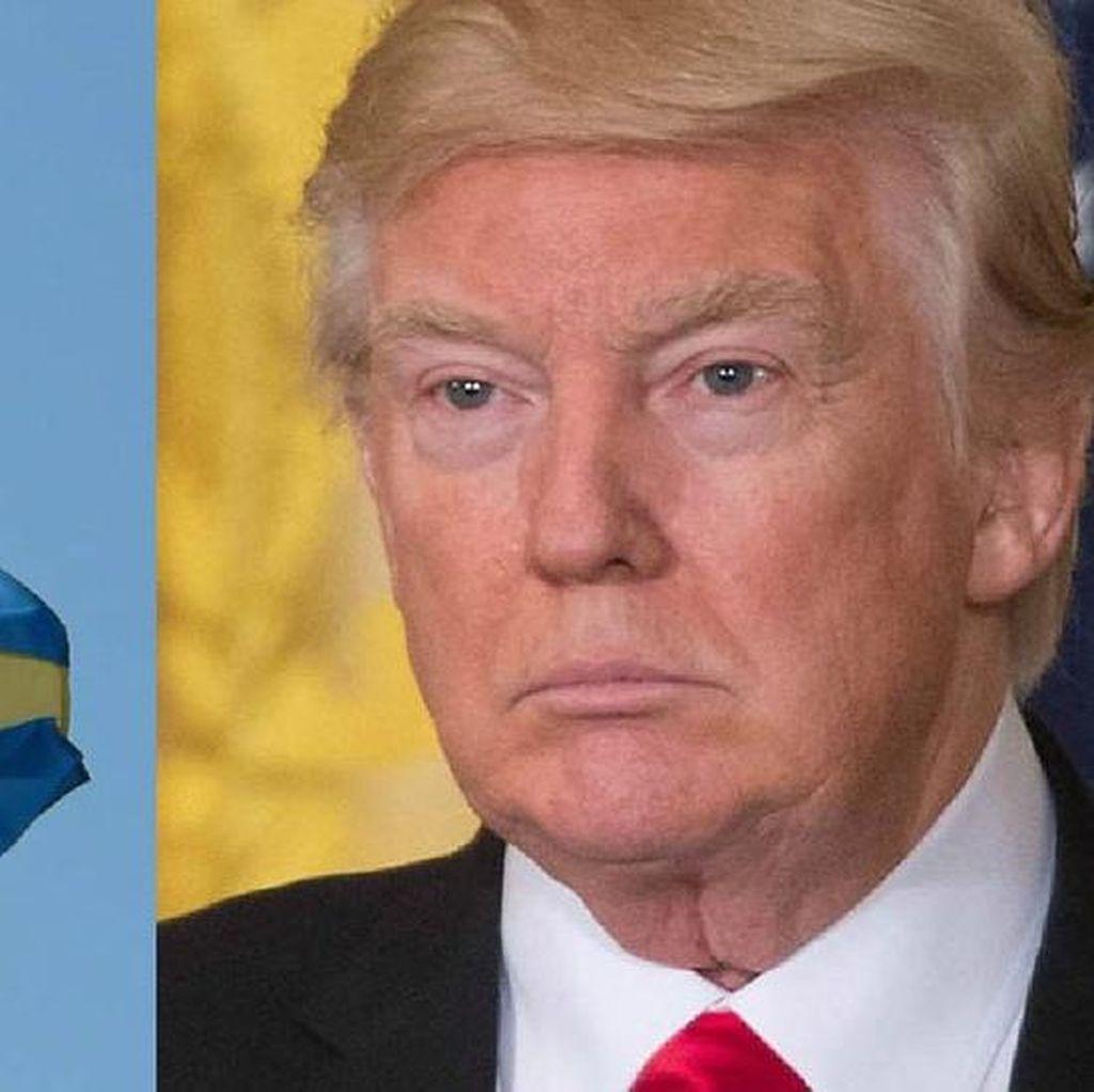 Tanggapi Pidato Trump, Swedia Sayangkan Informasi Tidak Akurat