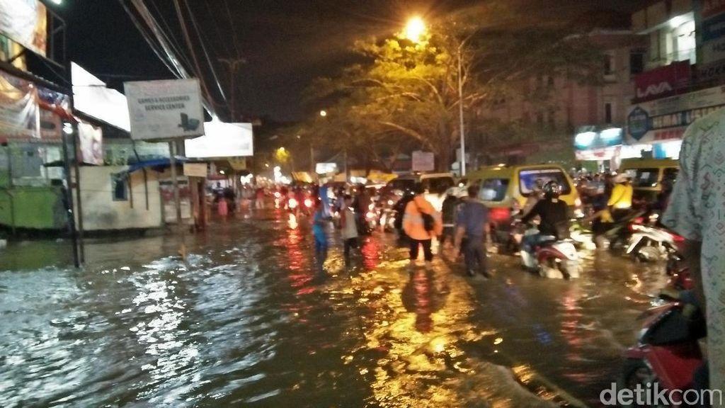 Kali Angke Meluap, Kompleks Ciledug Indah I Kebanjiran