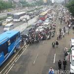 Jalur Transjakarta Harus Tetap Steril Saat May Day!