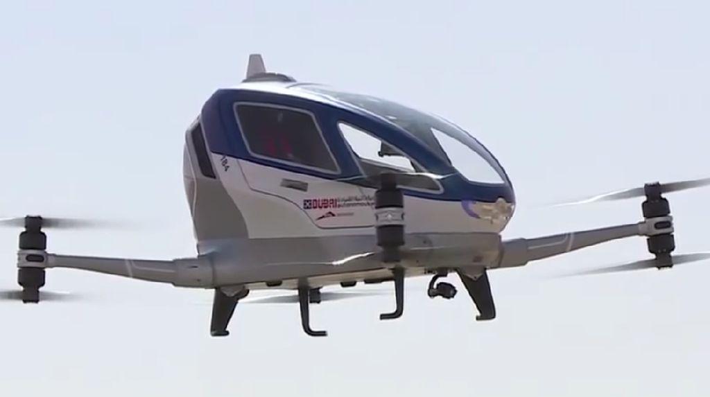 Wow! Taksi Terbang Bakal Ada di Dubai dan China