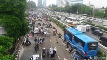 Massa Aksi 212 Membubarkan Diri, Lajur TransJ Dibuka Lagi