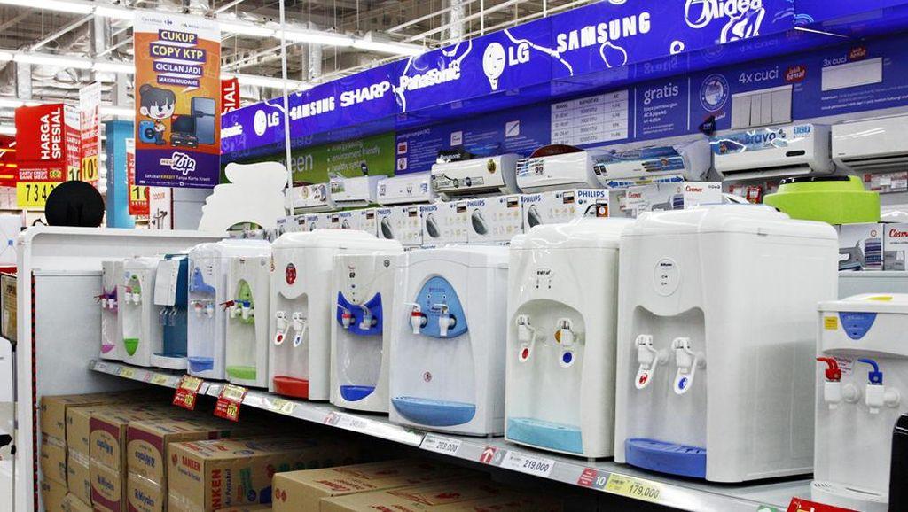 Transmart dan Carrefour Tawarkan Aneka Promo Dispenser