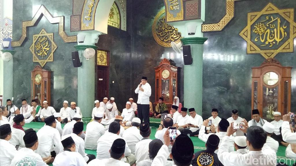 Unggul di Real Count, Cagub Banten Wahidin Halim Gelar Istigasah