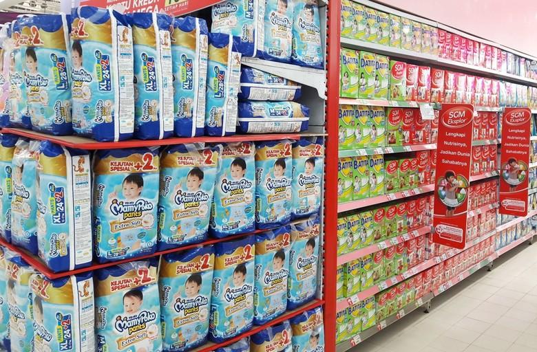 Promo Popok Sekali Pakai dan Kebutuhan Bayi di Trasmart Carrefour