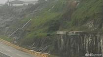Lewat Tol Gempol-Pandaan, Waspadai Tebing di KM 50 Rawan Longsor