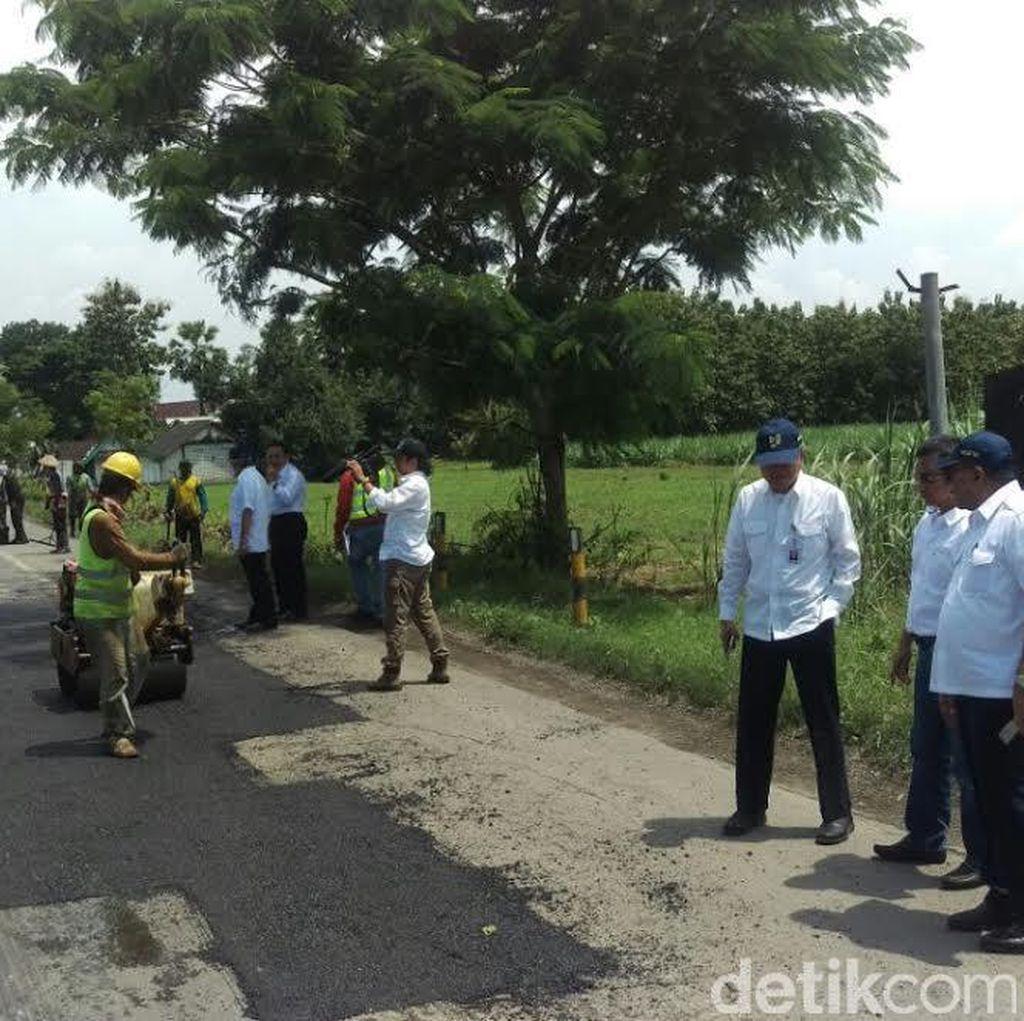 Perbaikan Jalan Rusak di Jatim Dipastikan Selesai akhir Februari