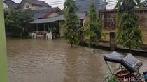 Rumah Wakil Wali Kota Serang Terendam Banjir