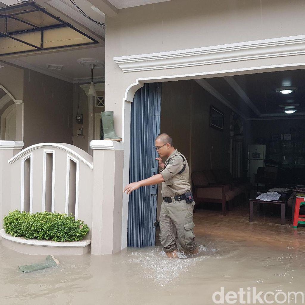 Banjir di Serang, Rumah Wakil Wali Kota Ikut Terendam