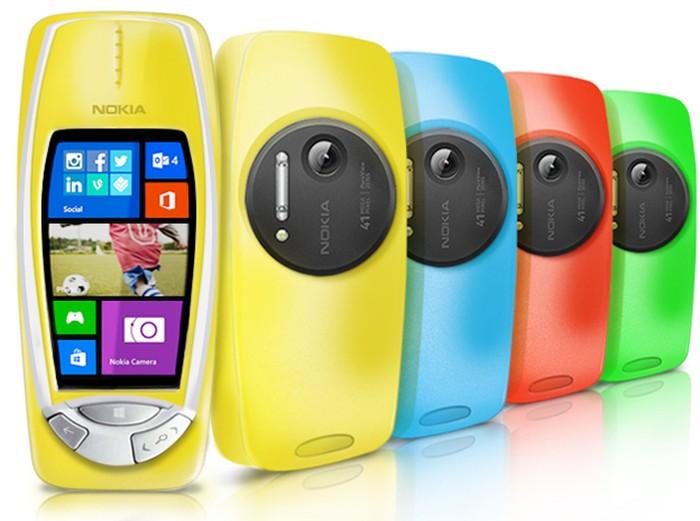 Ini adalah konsep Nokia 3310 yang memakai sistem operasi Windows Phone. Ini adalah hasil rekaan Nokia sendiri beberapa waktu lalu untuk merayakan April Mop. Foto: istimewa