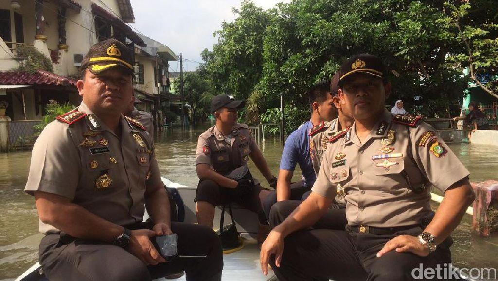 Listrik di Beberapa Perumahan di Bekasi Diputus karena Banjir