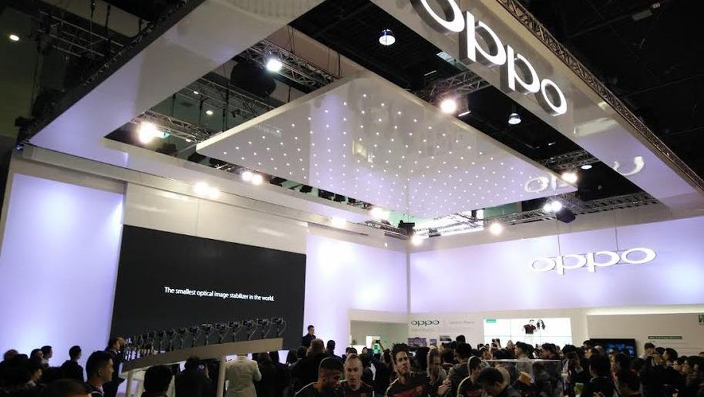 Kisah Sukses Oppo di Mobile World Congress