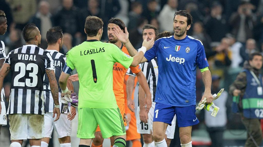 Buffon Ingin Casillas Main Luar Biasa Lawan Juventus