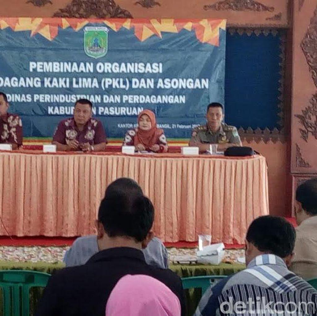 Ratusan PKL di Pasuruan Dilatih Sajikan Makanan Higienis
