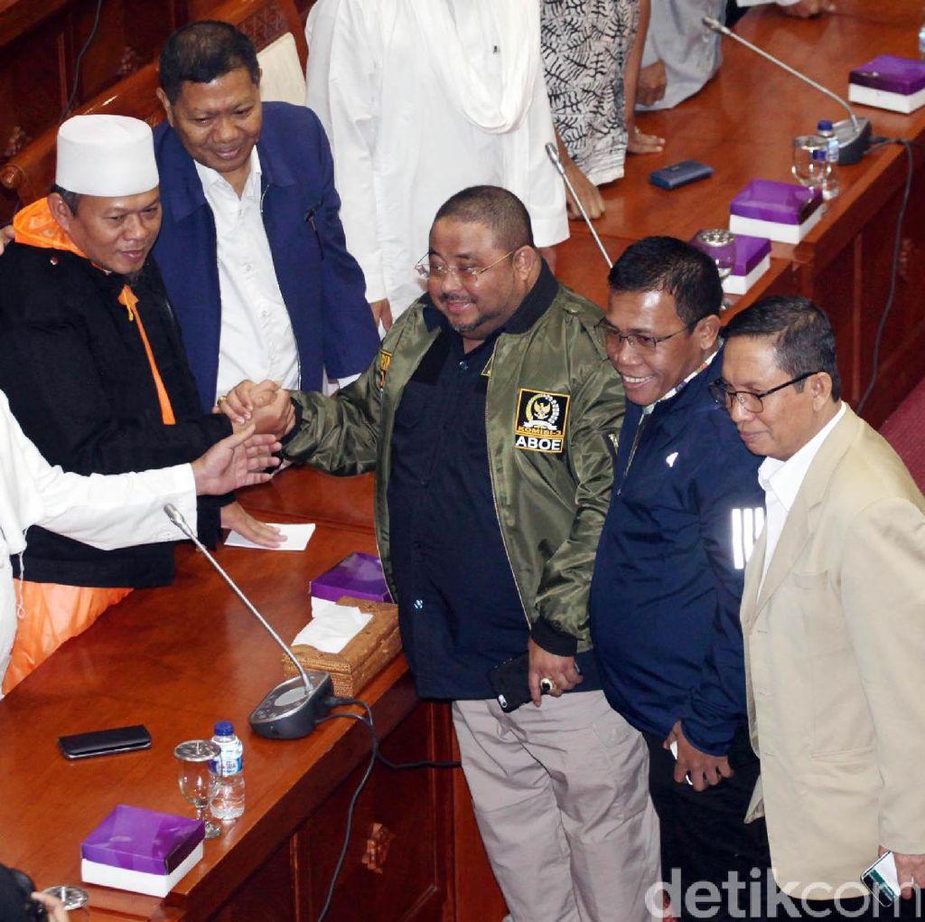 Perwakilan Massa Aksi Bertemu Komisi III