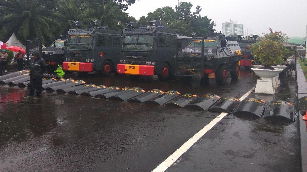 Ada Aksi 212, Begini Pengamanan Aparat TNI/Polri di DPR