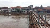 Dirjen SDA Cek Tanggul di Kali Ciliwung Kampung Pulo