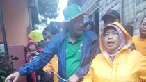 Datangi Banjir Cipinang, Wagub Djarot Sempatkan Melayat Warga