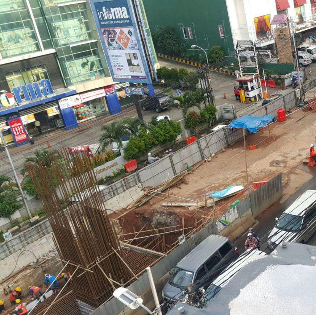 Ternyata Jl RS Fatmawati Tidak Ditutup, Semua Toko Tetap Buka