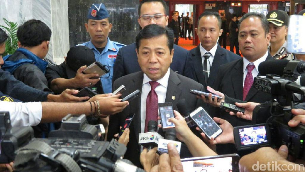 Soal Ahok-Gate, Ketua DPR: Kita Tunggu Proses Hukum