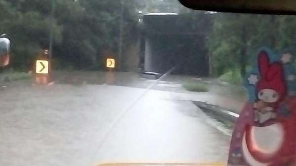 Banjir di Tunnel kering, GT Cikunir 4 Sudah Dibuka