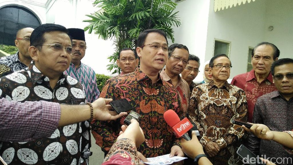 Kelompok Cipayung Bertemu Jokowi Bahas Ideologi Sampai Freeport