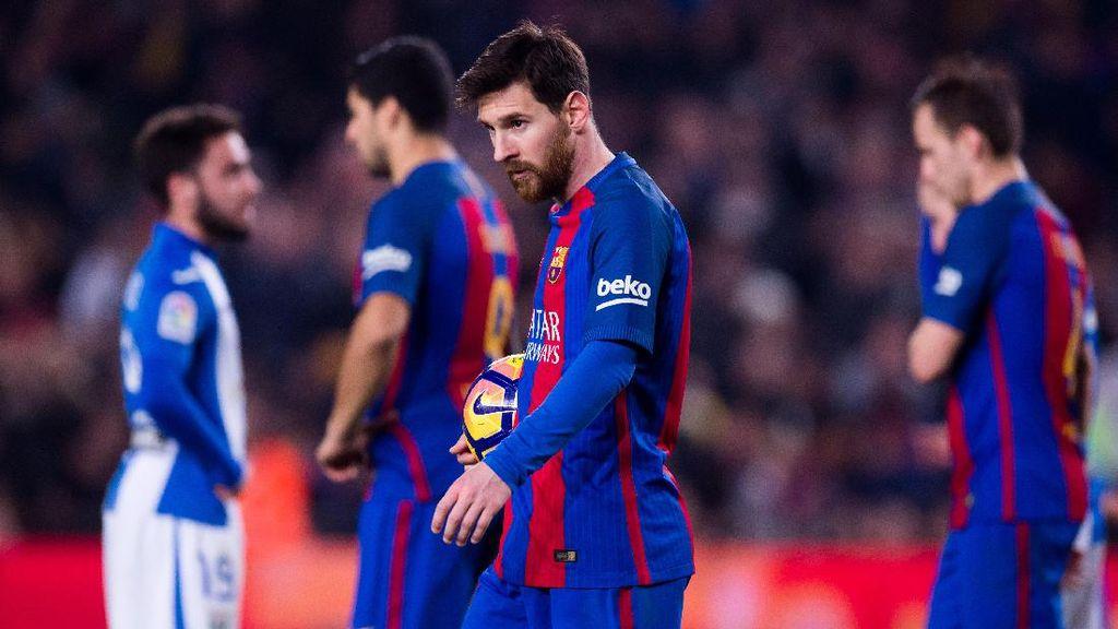 Messi Tak Rayakan Gol Lawan Leganes Karena Kritik atas Performanya Lawan PSG