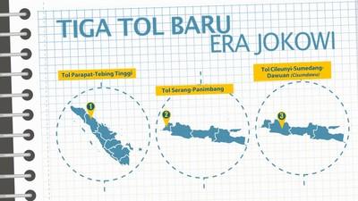 Lagi, 3 Jalan Tol Baru Diteken Kontraknya di Era Jokowi