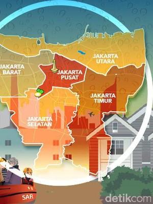 Banjir Jakarta 5 Tahun Terakhir