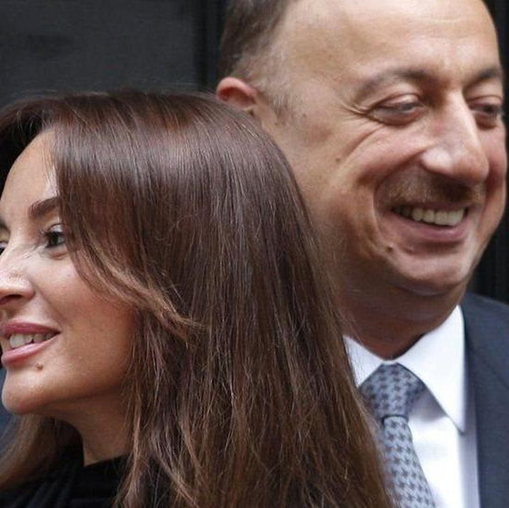 Presiden Azerbaijan Ilham Aliyev Angkat Istrinya sebagai Wapres