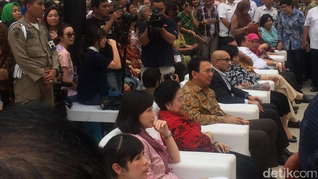 Ahok dan Megawati Hadiri Peresmian RPTRA Kalijodo