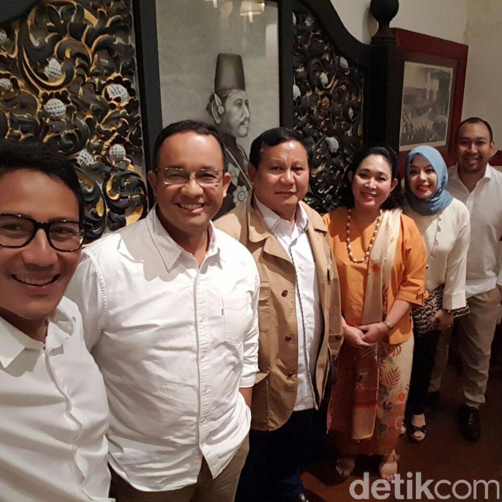 Titiek Bertemu Anies-Sandi, Gerindra: Banyak Orang Golkar Dukung