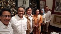 Ini Isi Pertemuan Anies-Sandi dengan Prabowo dan Titiek Soeharto