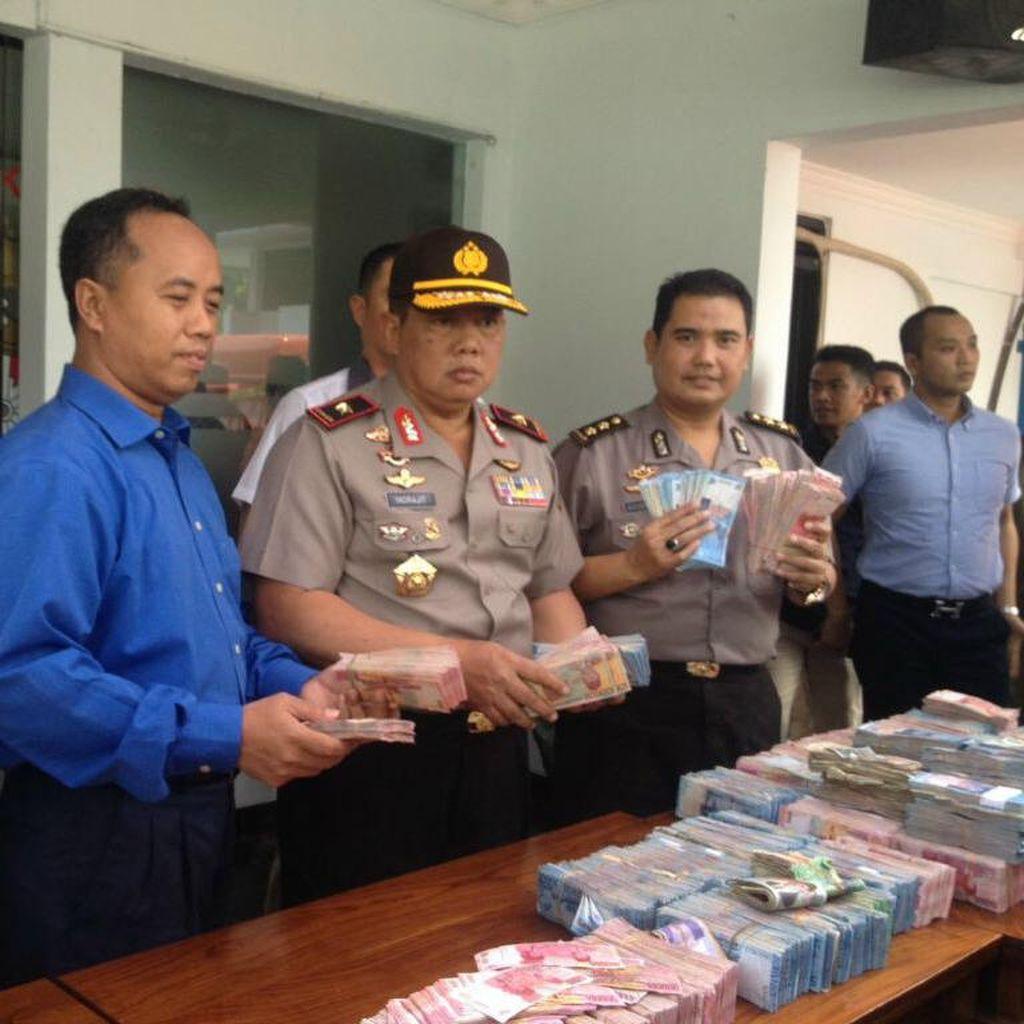 Polda Jawa Tengah Musnahkan 31 Ribu Lembar Uang Palsu