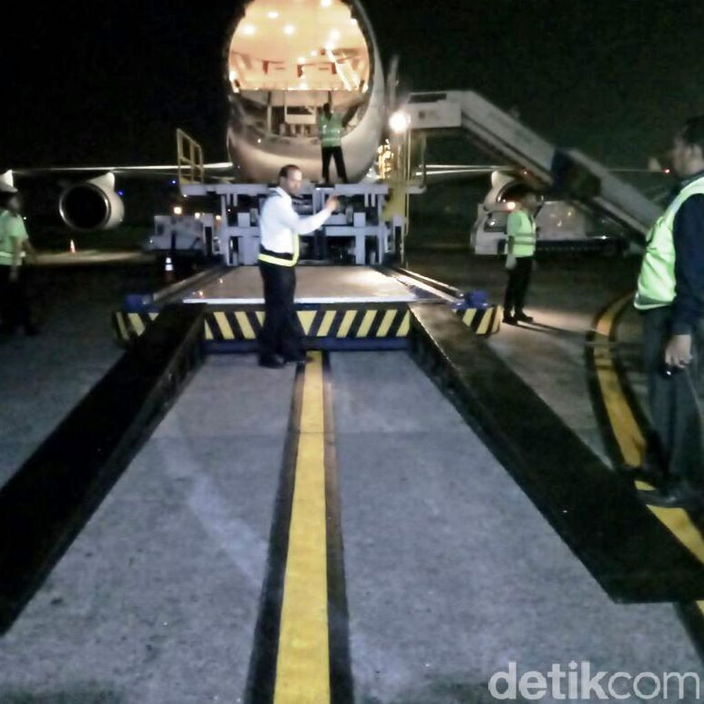 Ada 29 Penerbangan Kargo dan Penumpang Layani Rombongan Raja Saudi