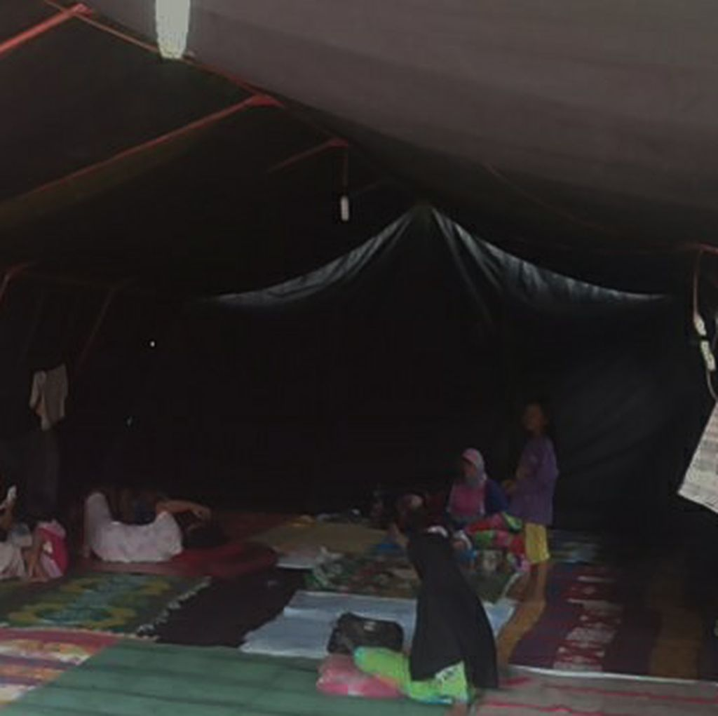 Kali Mookervart Belum Surut, Warga Masih Mengungsi