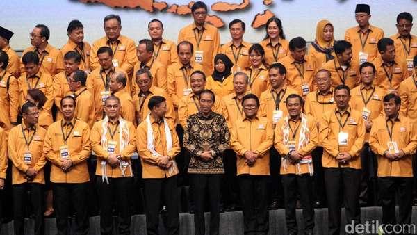 Gelar Rapimnas, Hanura Cari Duet Jokowi di Pilpres 2019