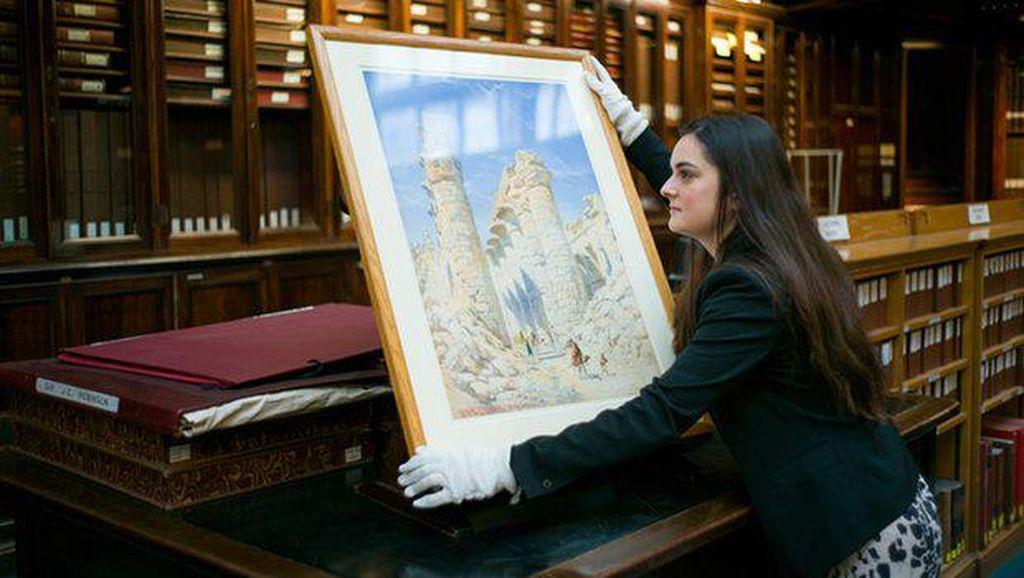 Lukisan Misterius yang Ada di Gudang Museum Inggris Kini Dipamerkan