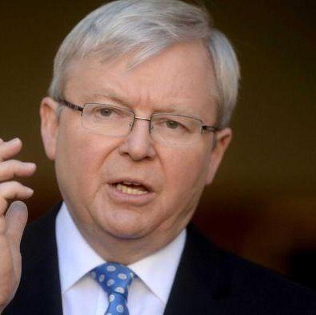 Kevin Rudd Desak Partai Buruh Australia Akui Palestina