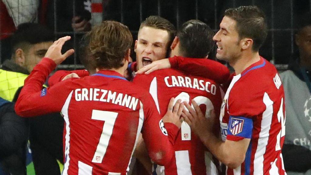 Saat Griezmann Menentang Keputusan Simeone Ganti Gameiro