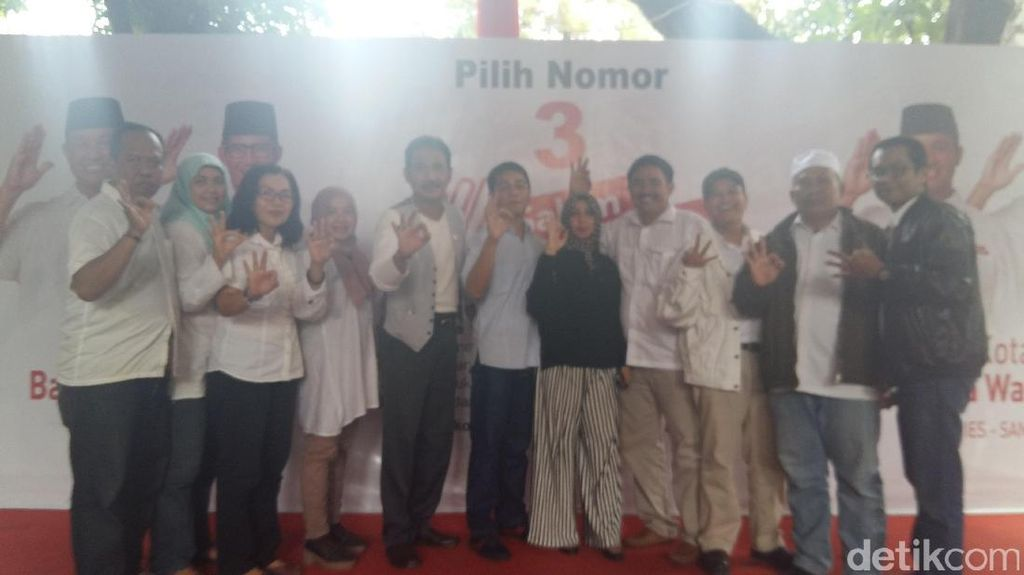 Anggota DPRD Fraksi PPP, PAN dan PKB DKI Dukung Anies-Sandi